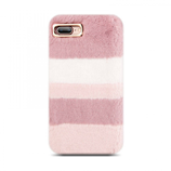 KISSCASE Pink Velvet Warm iPhone Case
